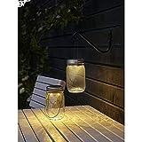 Luz decorativa Solar en tarro de masón con mango | hogar deco iluminación luz solar by CASCACAVELLE