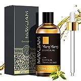MAYJAM Aceites Esenciales de Ylang Ylang 100 ml, 100% Aceites Esenciales Naturales Puros, Aceite Esencial de Aromaterapia de Grado Terapéutico, Aceites de Fragancia para Difusor Humidificador