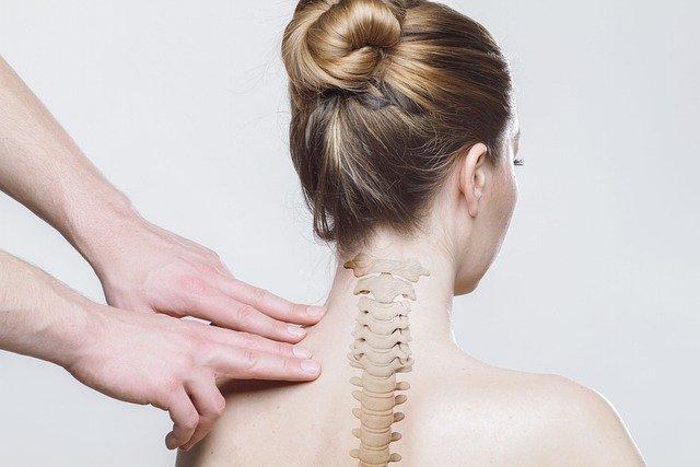Almohadilla térmica eléctrica para el cuello