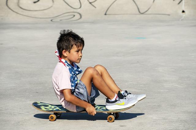 Patinete para niños de 3 ruedas