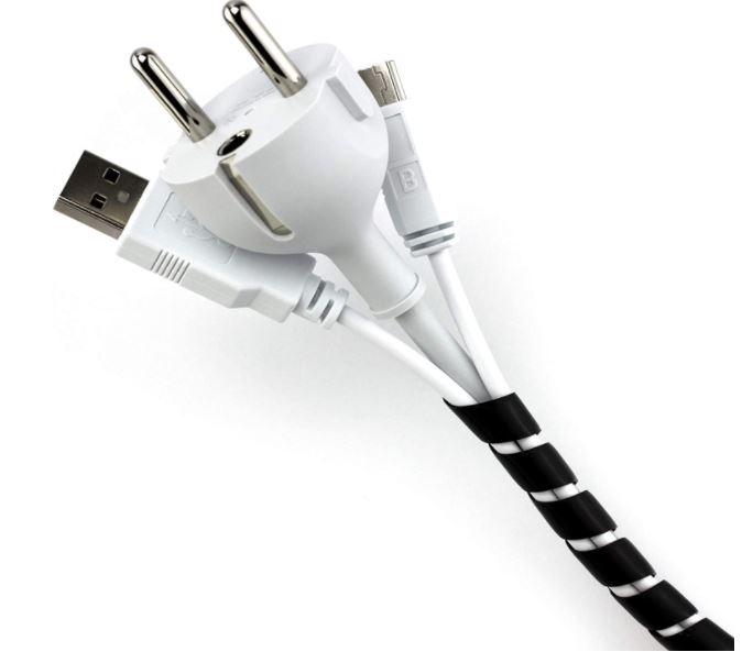 Organizador de cables para escritorio