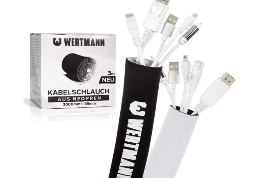 Wertmann Organizador de Cables con diámetro ajustable